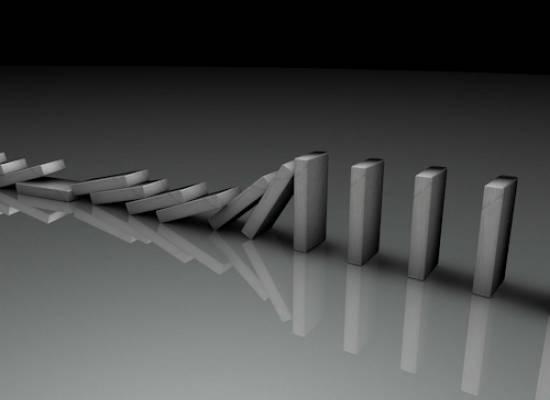 waarom pakt een faillissement vaak door binnen de structuur